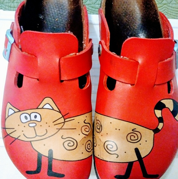 dfd6a34e2262 Birkenstock Shoes - Birkis cat clog style slip on shoes